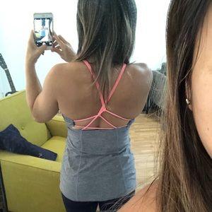 Lululemon athletica tank top with built-in bra